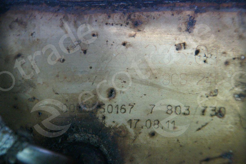 BMWEberspächer7808246 7803730Catalytic Converters