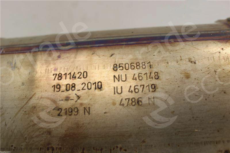 BMWEberspächer7811420 8506881Catalytic Converters