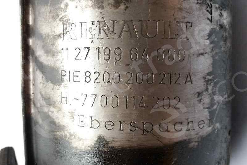 RenaultEberspächer8200200212A H7700114302Katalysatoren