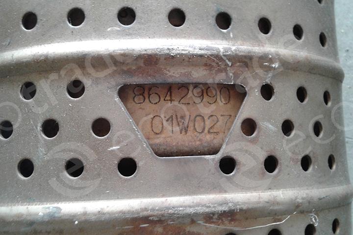 Volvo-8642990Catalyseurs