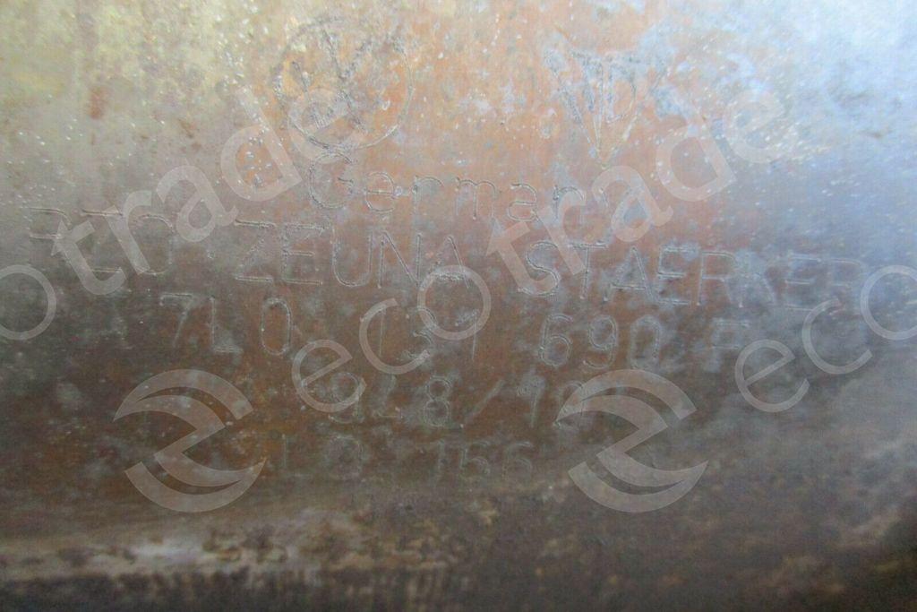 Volkswagen - AudiZeuna Starker7L0131690F 7L0166AACatalytic Converters