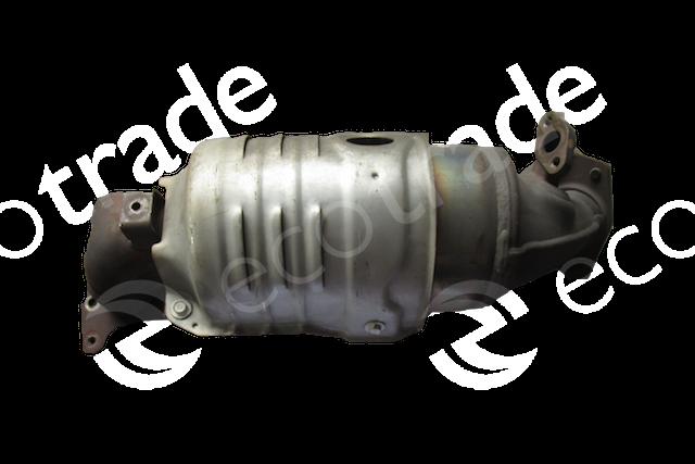 Honda-NEW CIVIC Y4المحولات الحفازة