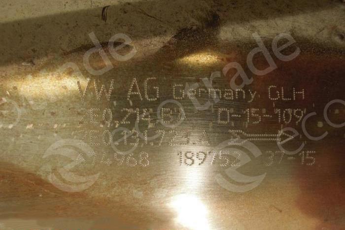 Volkswagen - Audi-2E0214BA 2E0131723A 2E0253053P (DPF)Catalytic Converters