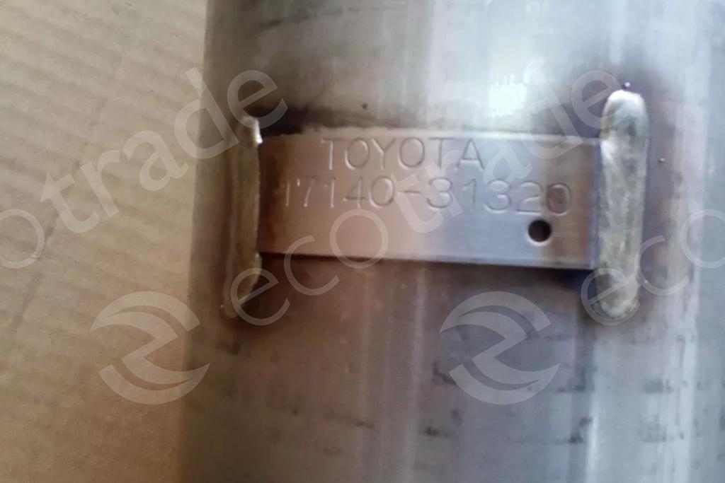 Toyota-17140-31320Catalytic Converters