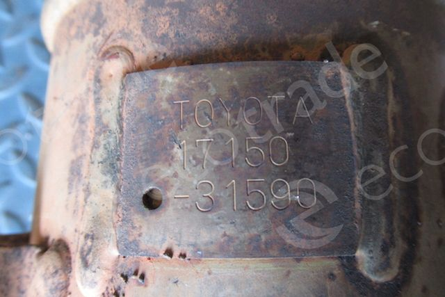Toyota-17150-31590Catalyseurs