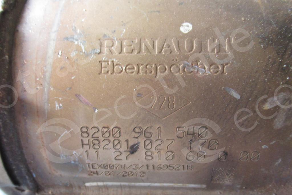 Renault-8200961540 H8201027170Catalytic Converters