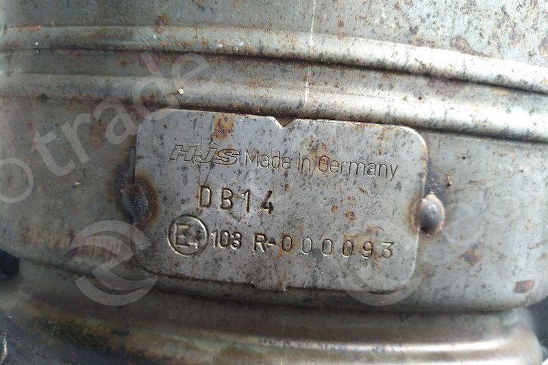 Mercedes Benz-103R-000093Catalytic Converters