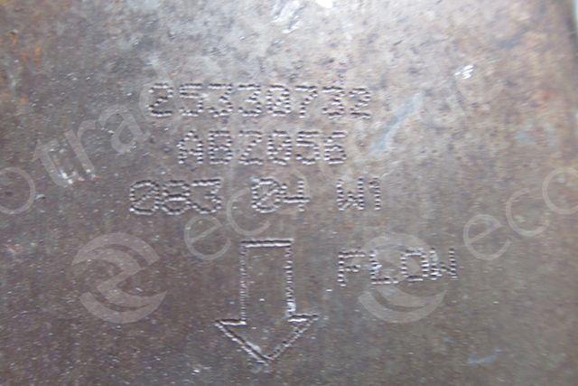 General MotorsAC25330732Catalyseurs