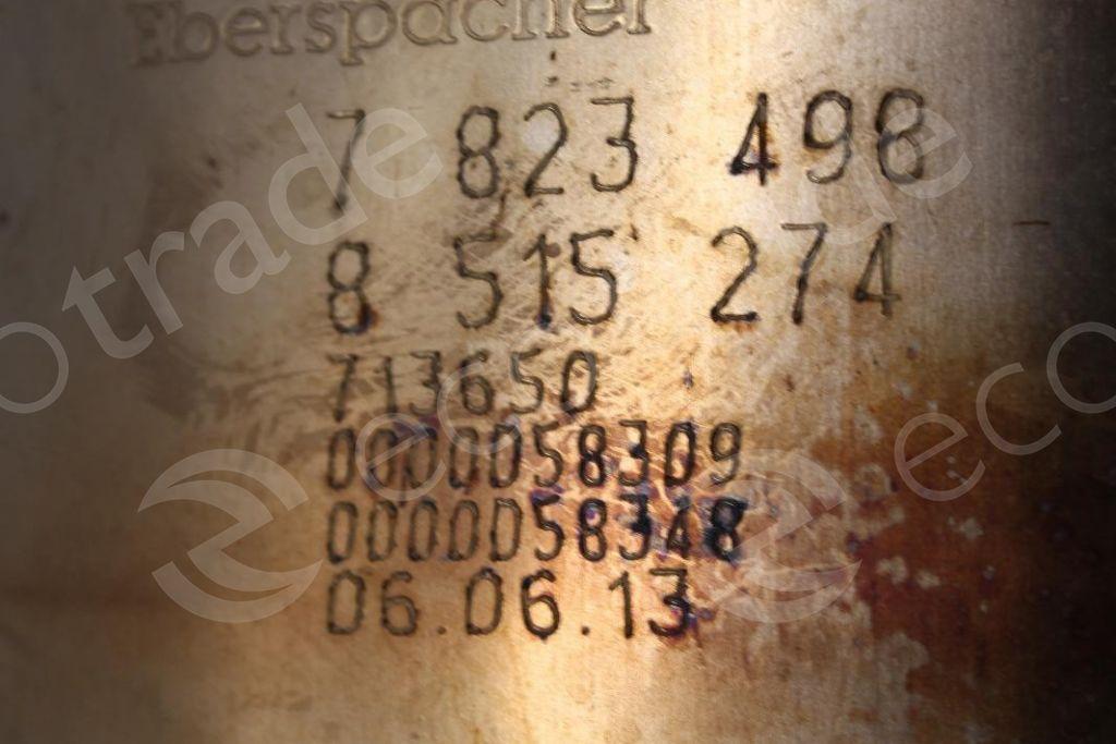 BMWEberspächer7823498 8515274Catalytic Converters