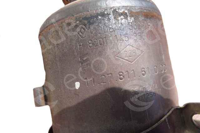 Renault-208A03629R H8201145355Catalyseurs
