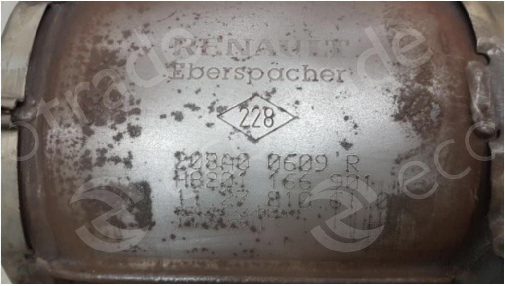 RenaultEberspächer208A00609R H8201166901Katalysatoren