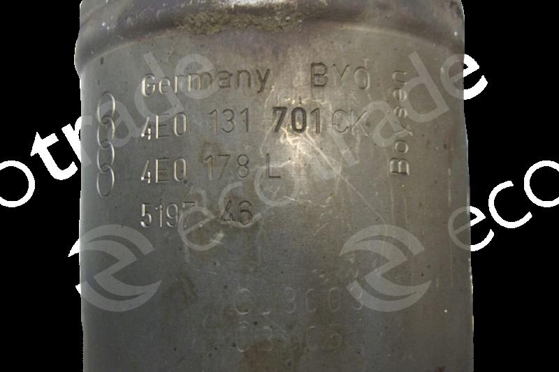 Volkswagen - AudiBoysen4E0131701CK 4E0178LCatalytic Converters