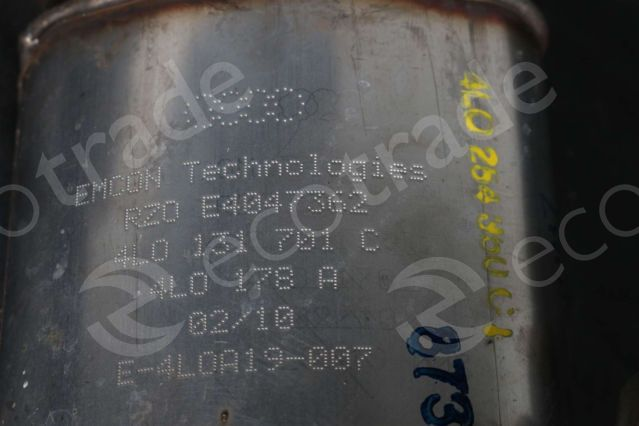 Volkswagen - AudiEMCON Technologies4L0131701C 4L0178ACatalytic Converters