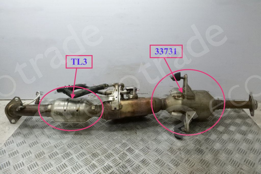 ToyotaFutaba33731Catalytic Converters