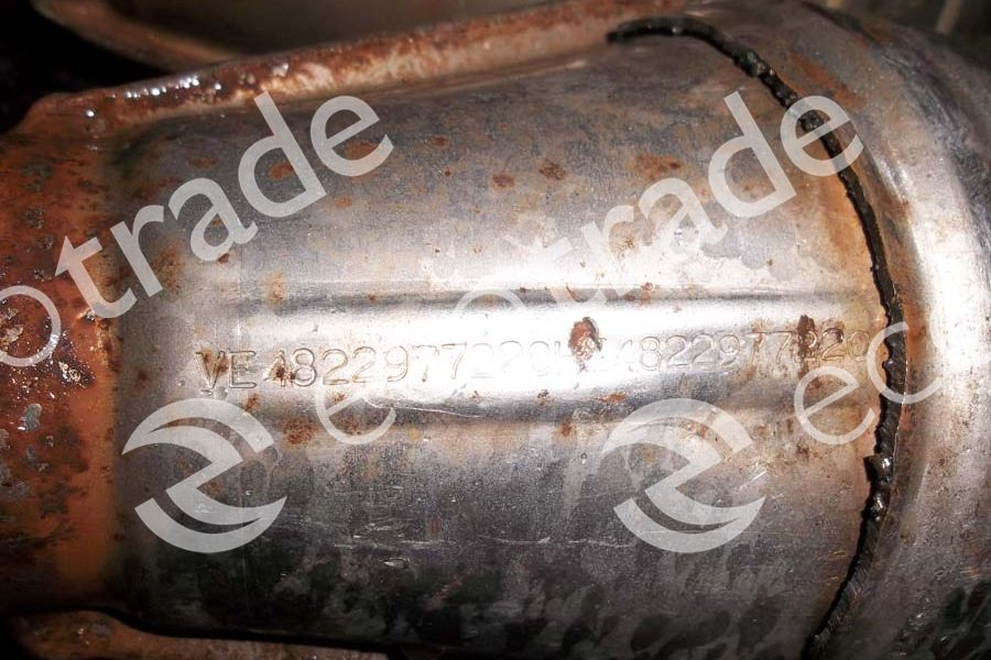 BMWEberspächer1728420 XII92Catalytic Converters