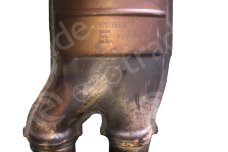 Volvo-3110288200 + 3110288300Catalytic Converters
