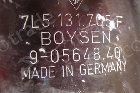 PorscheBoysen7L5131705FCatalytic Converters