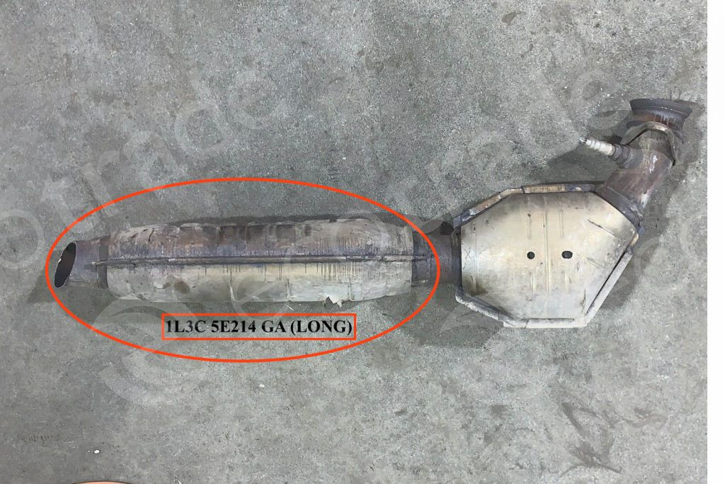 Ford-1L3C 5E214 GA (LONG)Catalytic Converters