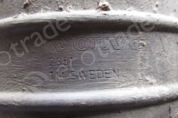 VolvoFaurecia2351, Made in SWEDENCatalyseurs