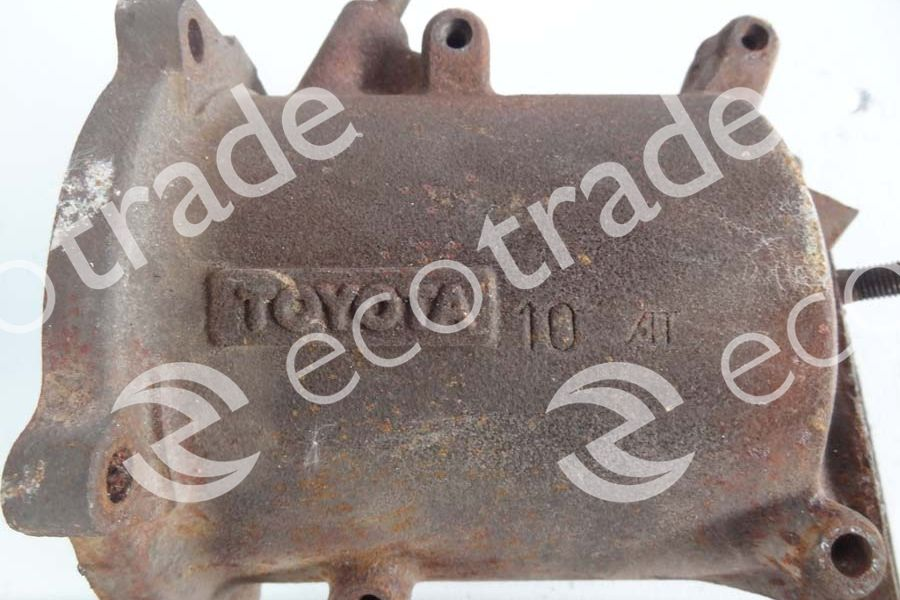 Toyota-10AT  (3S)Catalytic Converters