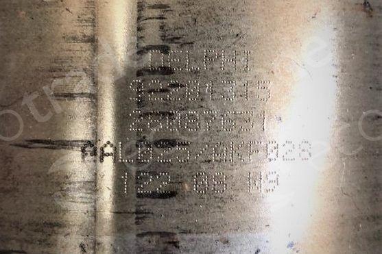 General Motors-92201315Catalytic Converters