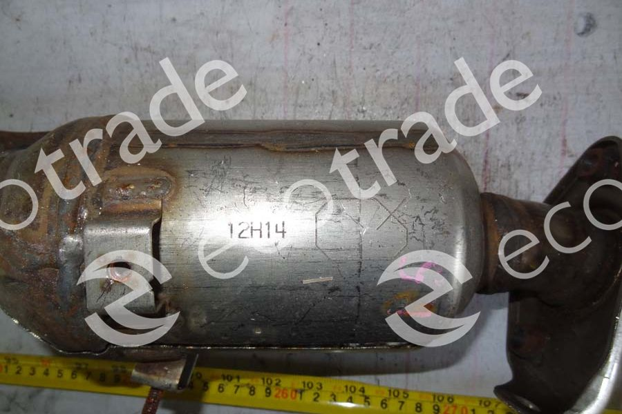Daihatsu-12H14Catalytic Converters