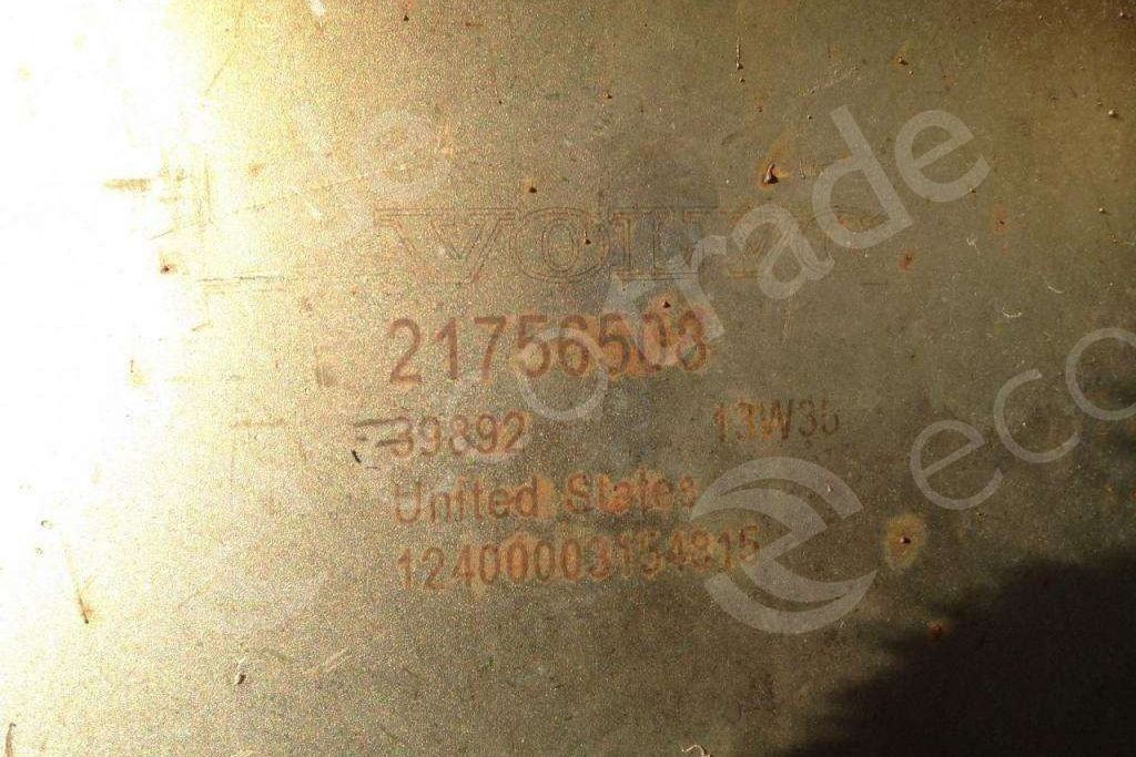 Volvo-21756508Catalytic Converters