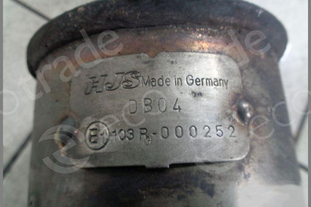 Mercedes Benz-103R-000252Catalytic Converters