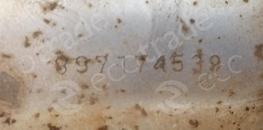 Isuzu-897174539Catalytic Converters