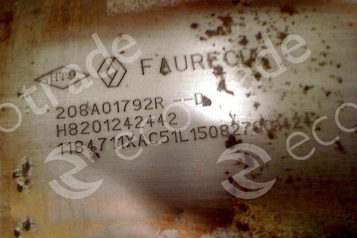 RenaultFaurecia208A01792R H8201242442Katalysatoren