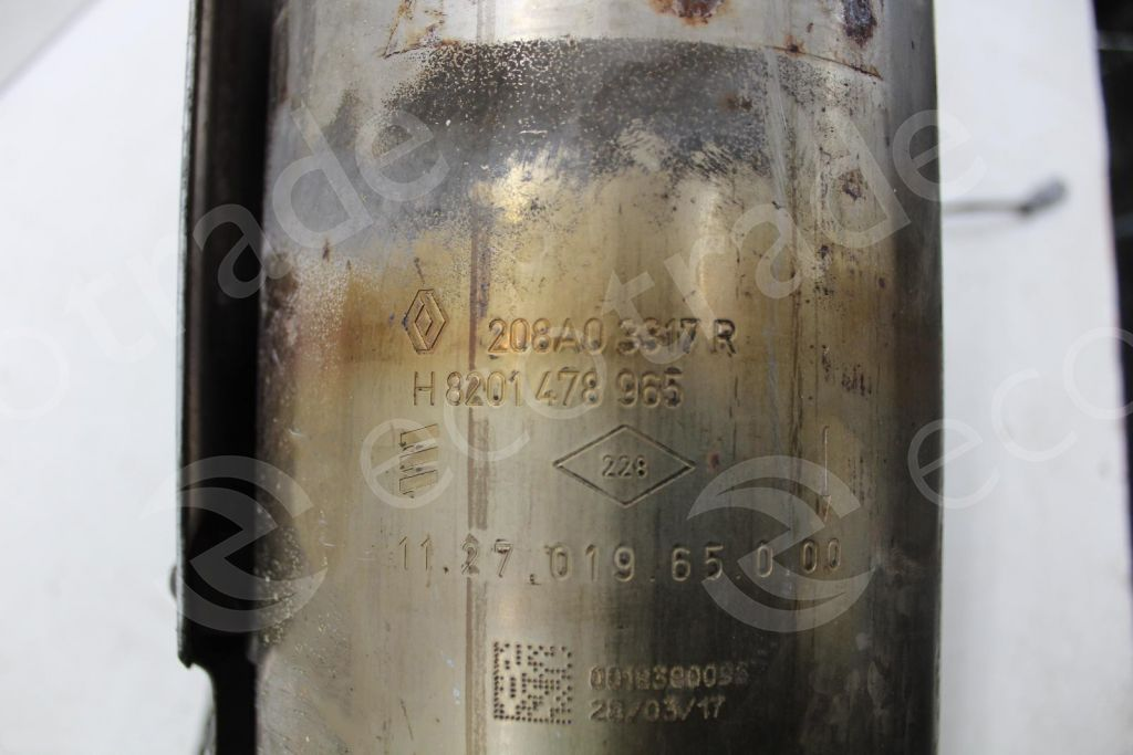 Renault-208A03317R H8201478965Catalyseurs