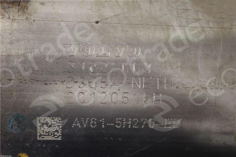 Volvo-31338003Catalytic Converters