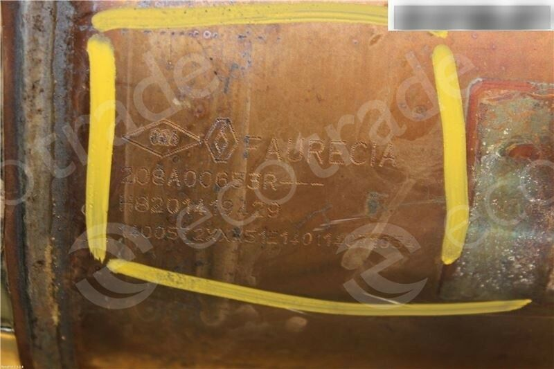 RenaultFaurecia208A00653R H8201419429Katalysatoren