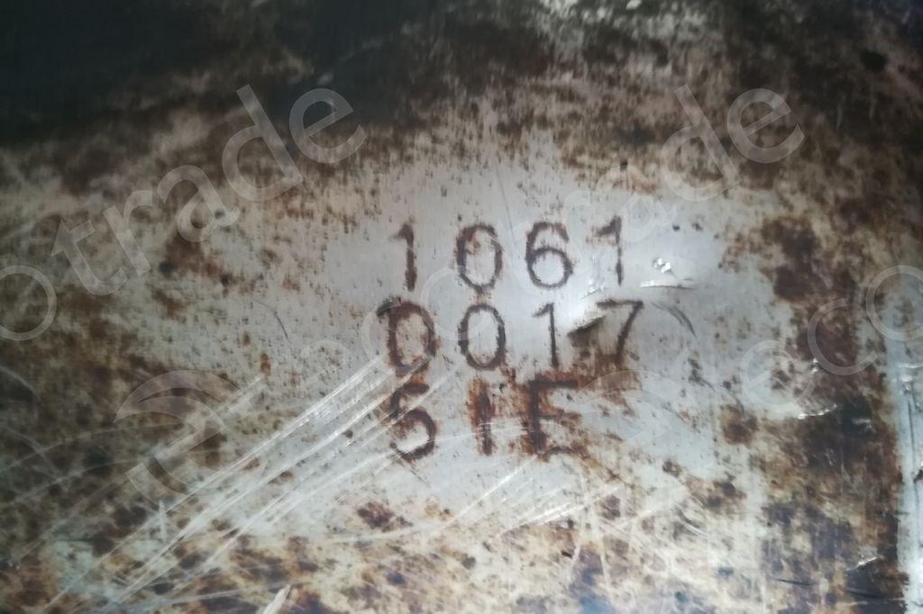 Hino-1061 Seriesउत्प्रेरक कनवर्टर
