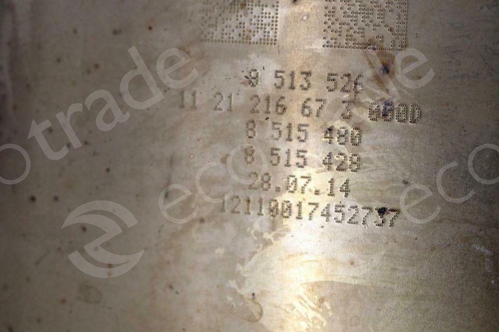 BMWEberspächer8513526 8515480 8515428Catalytic Converters
