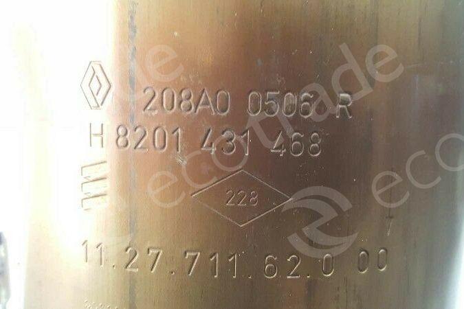 RenaultEberspächer208A00506R H8201431468Katalysatoren