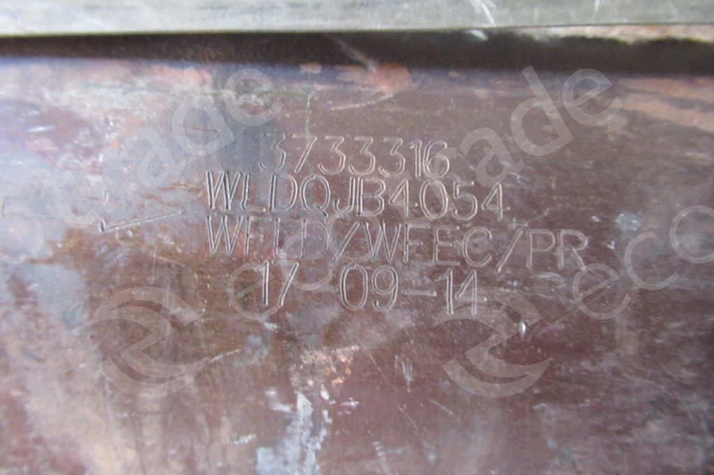 Geely-3733316Catalytic Converters