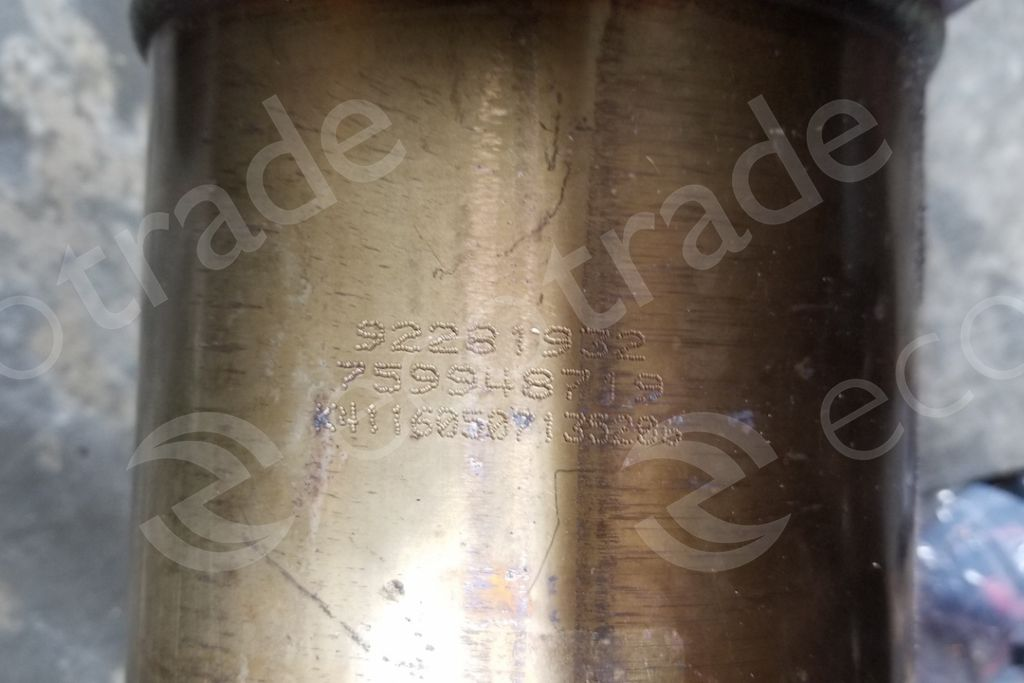 General Motors-92281932Catalytic Converters