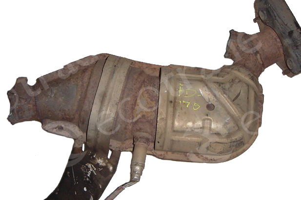 Ford-1F2C, 3F23, XF22, 2F22 (with bracket)Catalytic Converters
