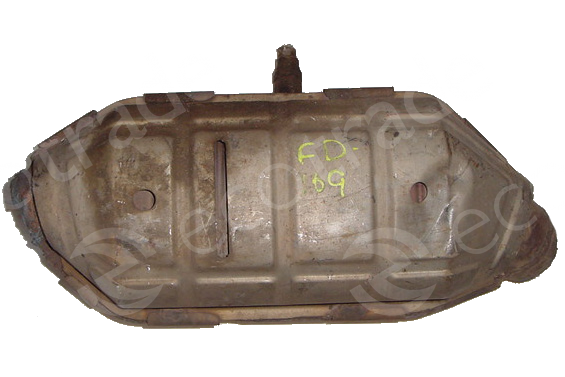 Ford-1F2C, 3F23, XF22, 2F22 (no bracket)Catalytic Converters