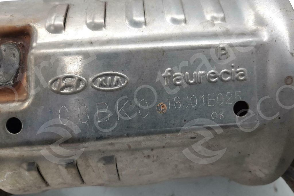 Hyundai  -  KiaFaurecia03BK0Catalisadores