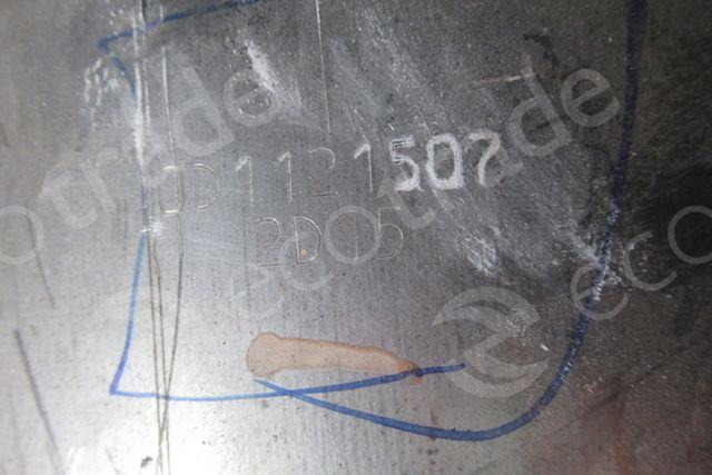 Hino-0D0241505 2043 (Ceramic) + 0D1121507 2D15 (DPF)उत्प्रेरक कनवर्टर