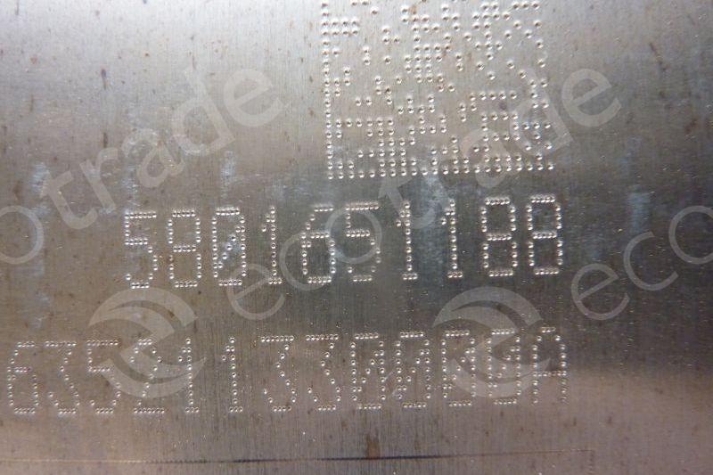 Iveco-5801651188Catalytic Converters