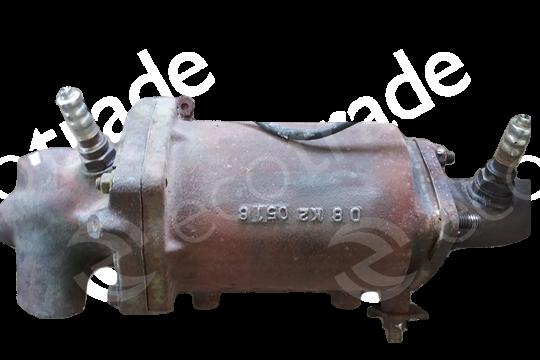 Mazda-08K2Catalytic Converters