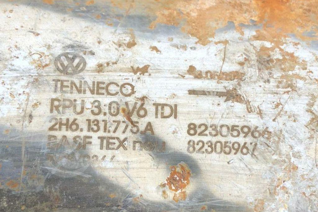 Volkswagen - AudiTenneco2H6131775ACatalytic Converters