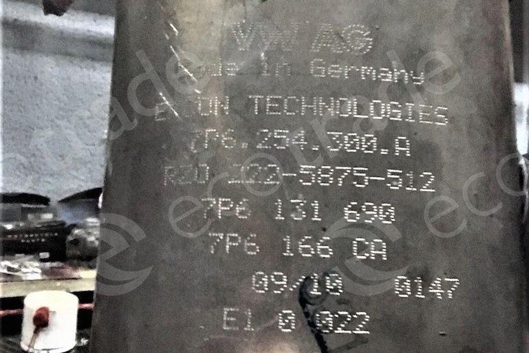 Volkswagen - AudiEMCON Technologies7P6254300A 7P6131690 7P6166CACatalytic Converters