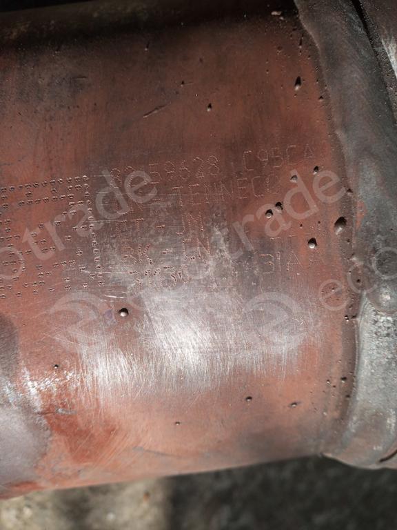 JaguarTenneco82159628Catalytic Converters