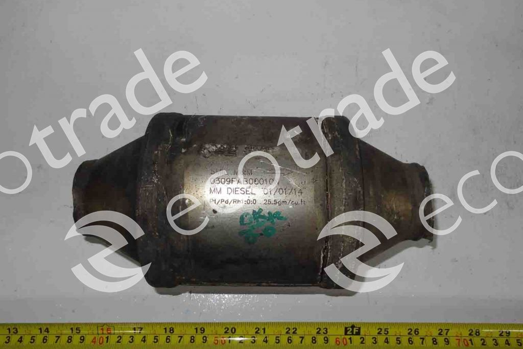 Unknown/None-0309FAB00010NCatalytic Converters