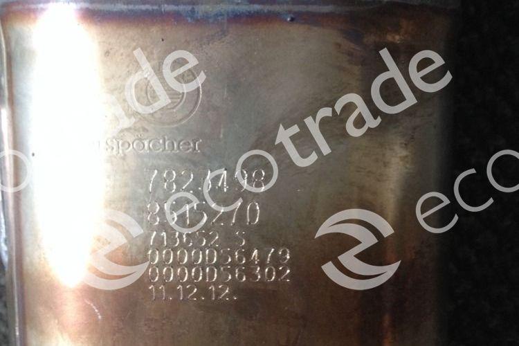 BMWEberspächer7823498 8515270Catalytic Converters