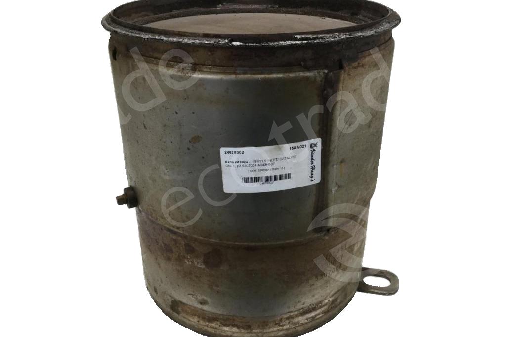 KenworthCumminsEPN A043H807 CPN 5307004Catalytic Converters